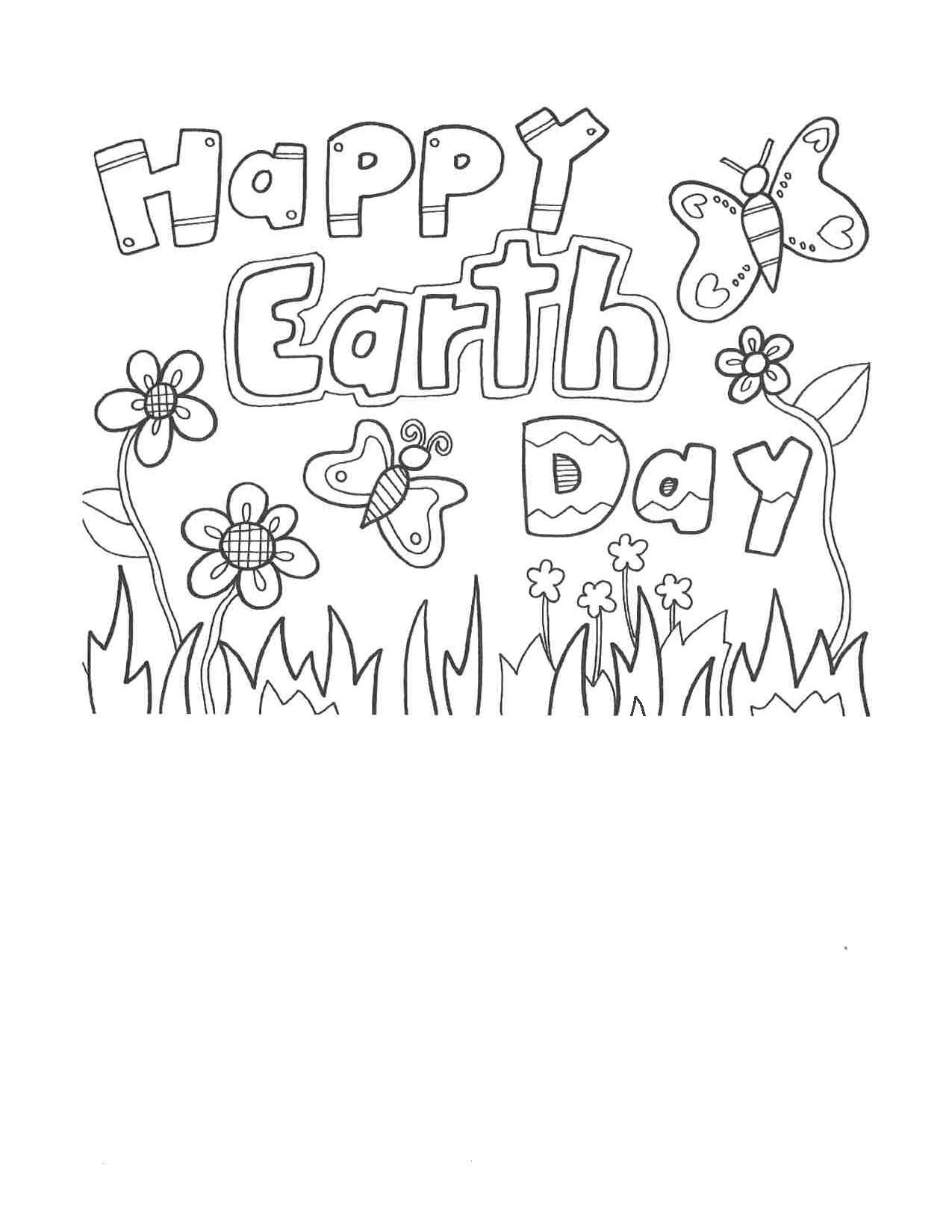 earth day coloring contest town of blades sussex county delaware